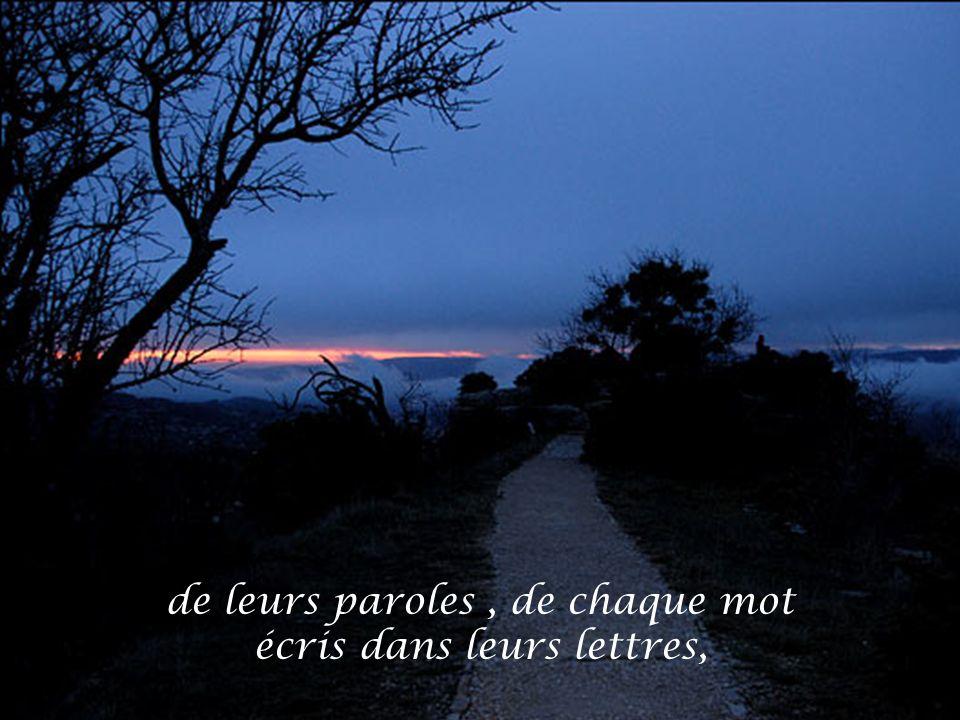 Je me souvenais…….et je me souvenais….
