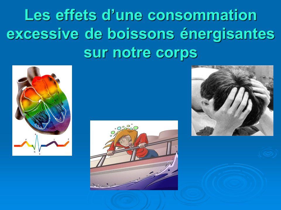 Les effets dune consommation excessive de boissons énergisantes sur notre corps