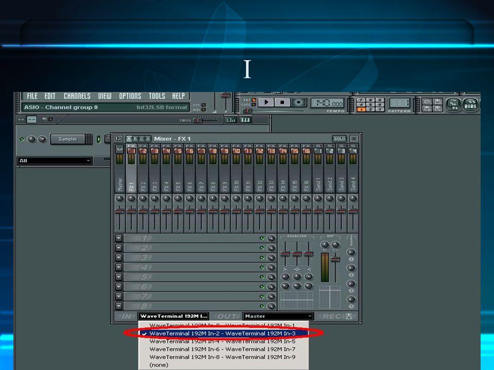 XII Si vous devez importer votre morceau dans un autre logiciel, il faut exporter chaque piste en wav.