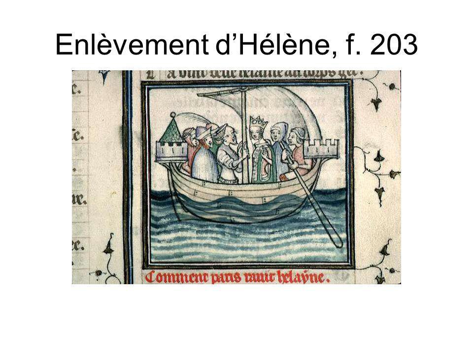 Enlèvement dHélène, f. 203