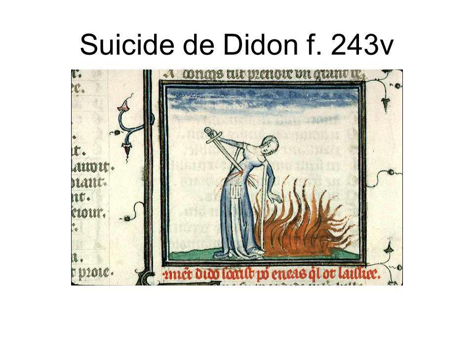 Suicide de Didon f. 243v