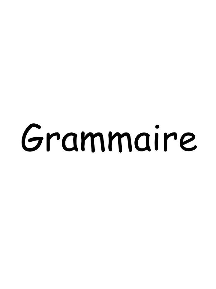 GR01 La Phrase Une phrase est un ensemble de mots ordonnés qui possède un sens.