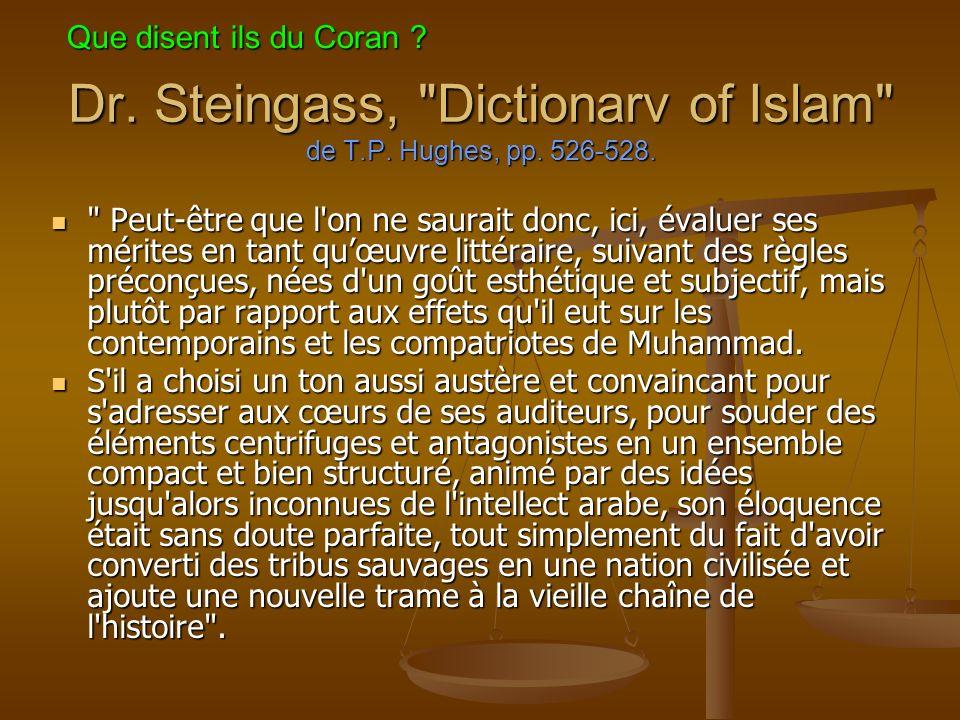 Dr.Steingass, Dictionarv of Islam de T.P. Hughes, pp.