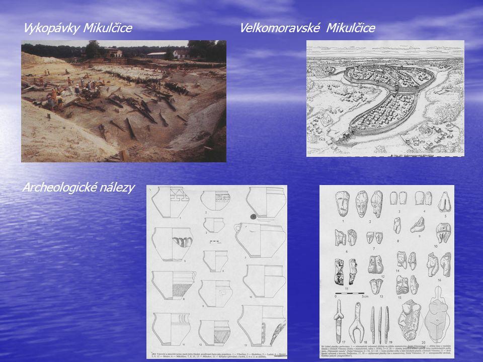 Vykopávky MikulčiceVelkomoravské Mikulčice Archeologické nálezy