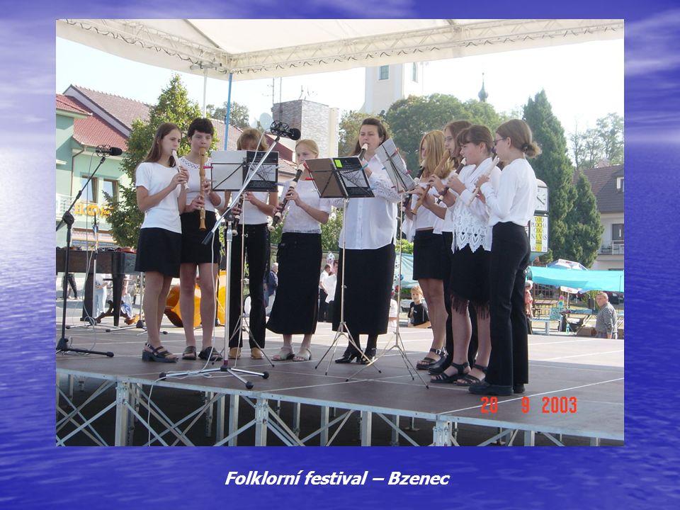 Folklorní festival – Bzenec