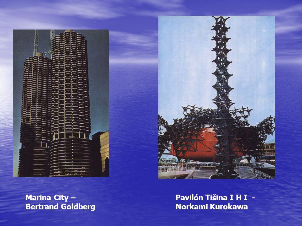 Marina City – Bertrand Goldberg Pavilón Tišina I H I - Norkami Kurokawa