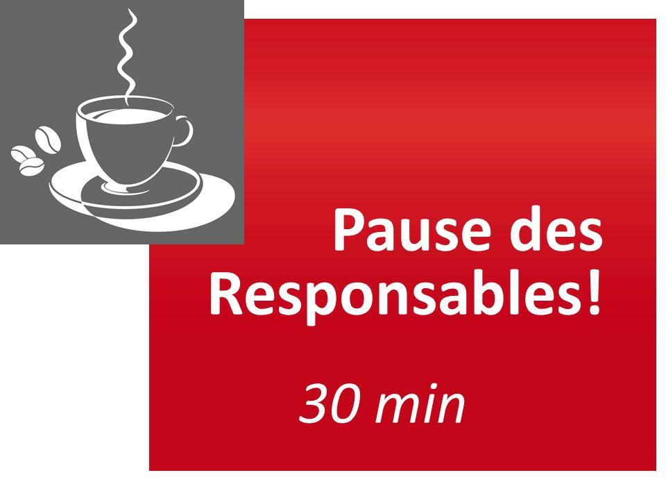 Pause des Responsables! 30 min