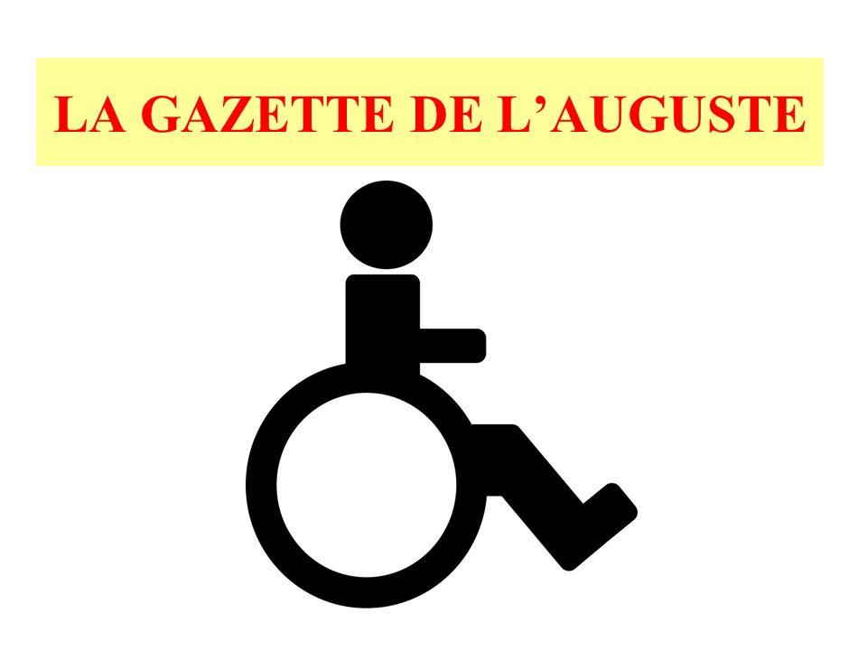 LE HANDICAPÉ, CET INCONNU Si nous-mêmes nous naidons pas les personnes handicapées, ce sera encore plus difficile pour elles.