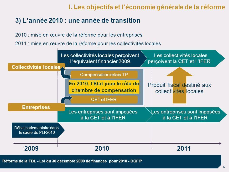 7 Réforme de la FDL - Loi du 30 décembre 2009 de finances pour 2010 - DGFiP II.