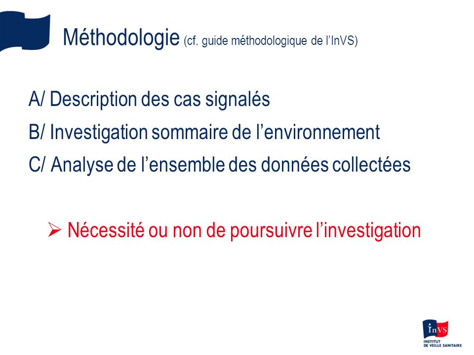 Méthodologie (cf.