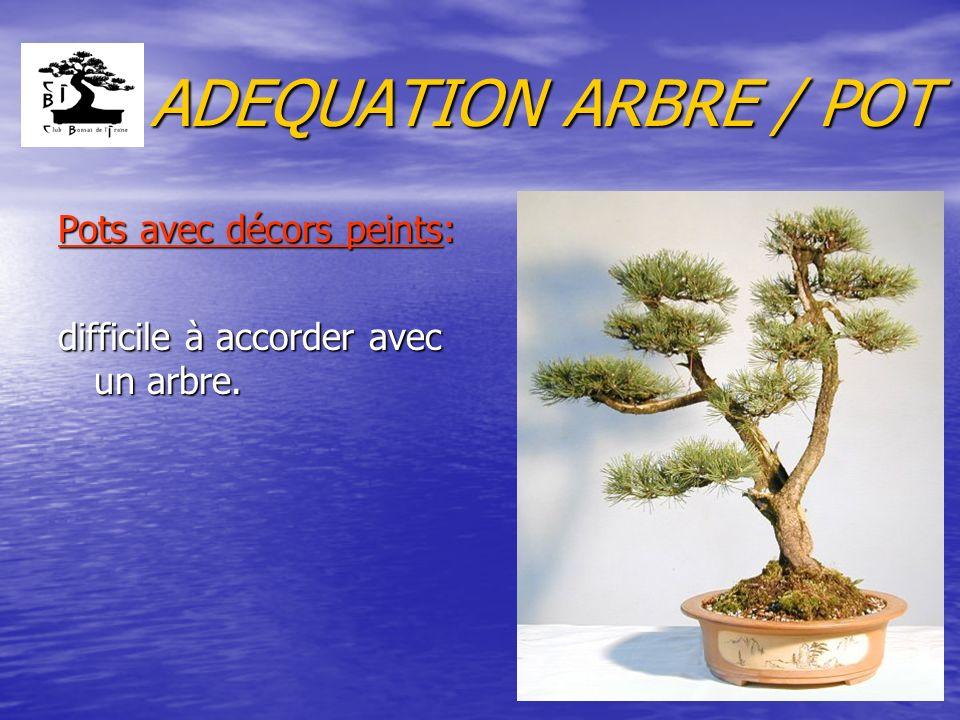 ADEQUATION ARBRE / POT 2.