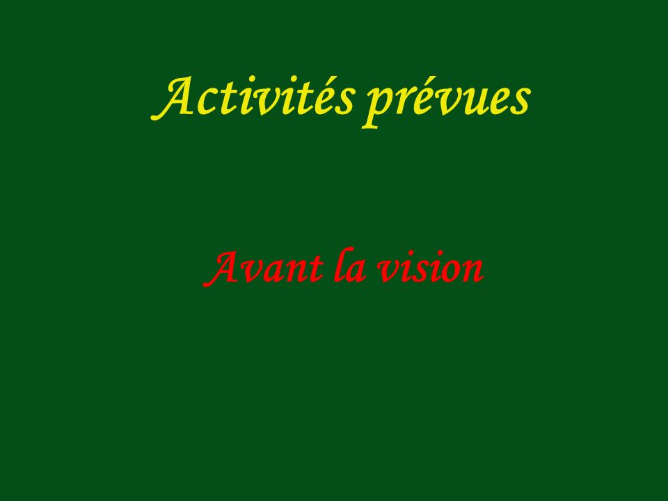 Classe : V ème année dun lycée linguistique Niveau : B1 Objectifs : développer la compréhension et la production orale et écrite à partir de la scène