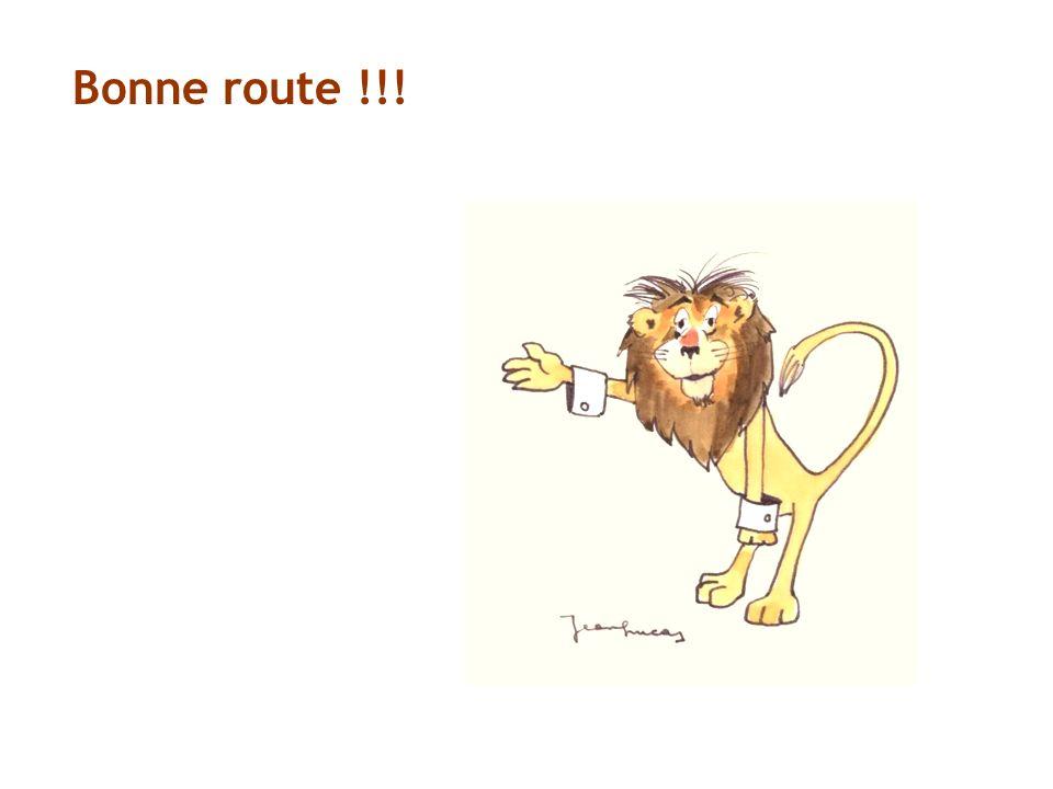 Bonne route !!!
