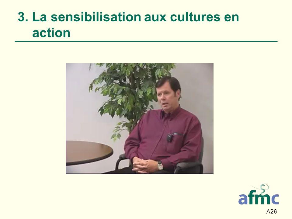 A26 3. La sensibilisation aux cultures en action