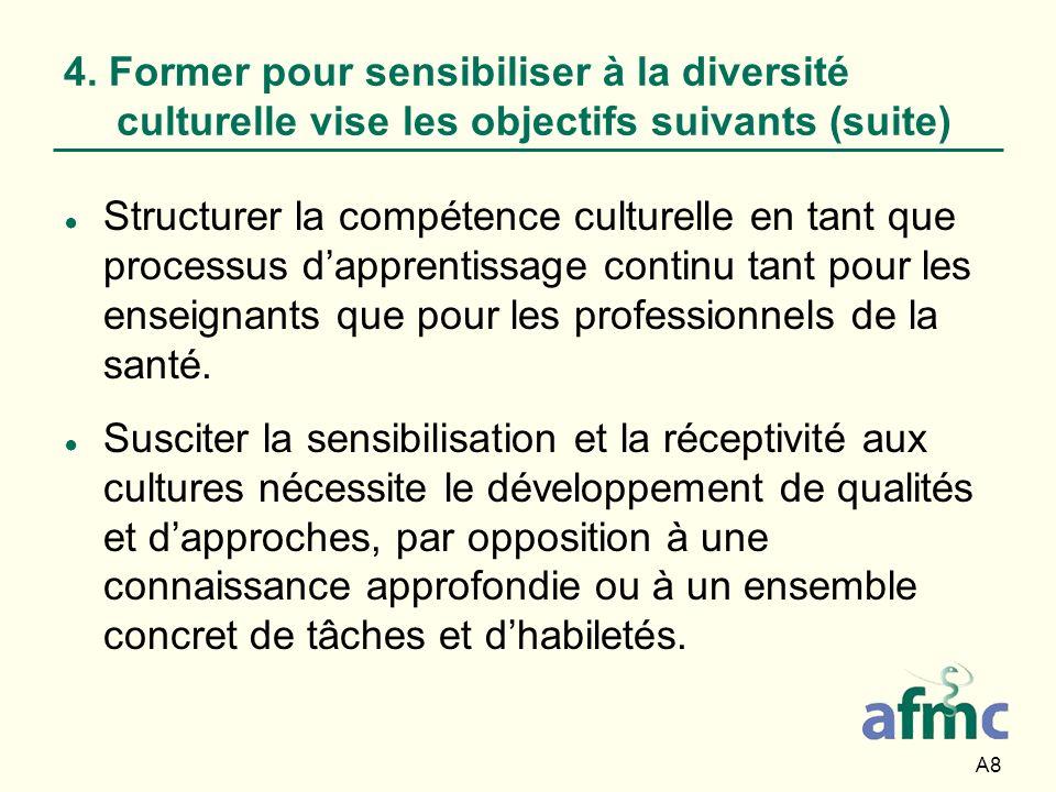 A89 8.Enseignement interculturel efficace Utilisez votre inclination scientifique.