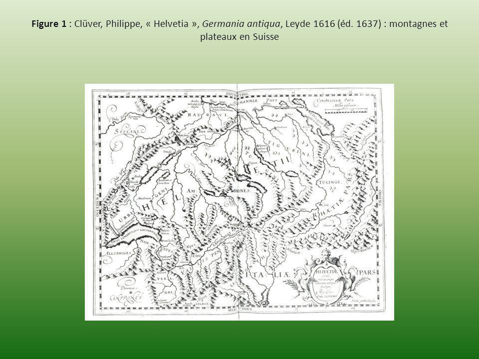 Figure 5 : Adam figure 12, Interprétation du réseau urbain du Pays de Vaud au Moyen Age, Hypothèse 1, Niveau 3 : classement des lieux Copyright, Anne Radeff 2007