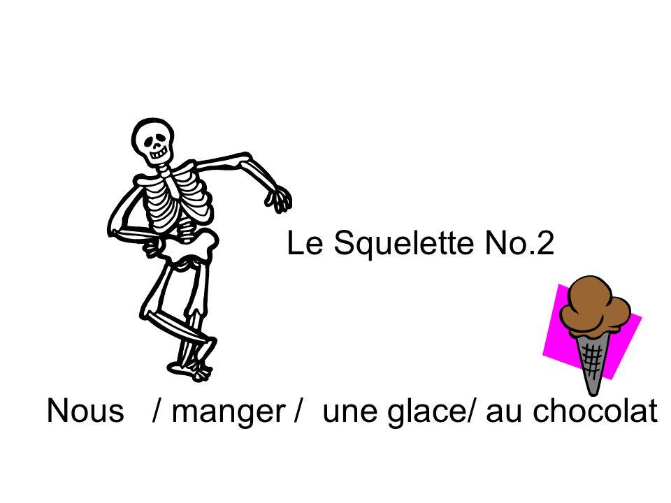 Le Squelette No.6 Je / habiter / à Marietta Et maintenant