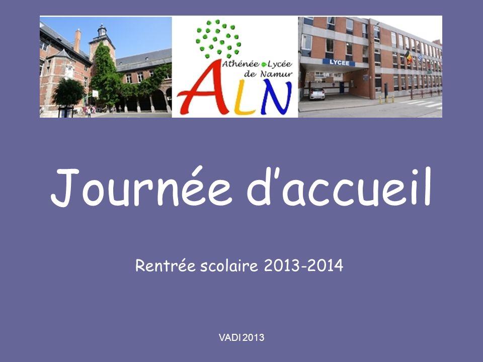 VADI 2013 Journée daccueil Rentrée scolaire 2013-2014