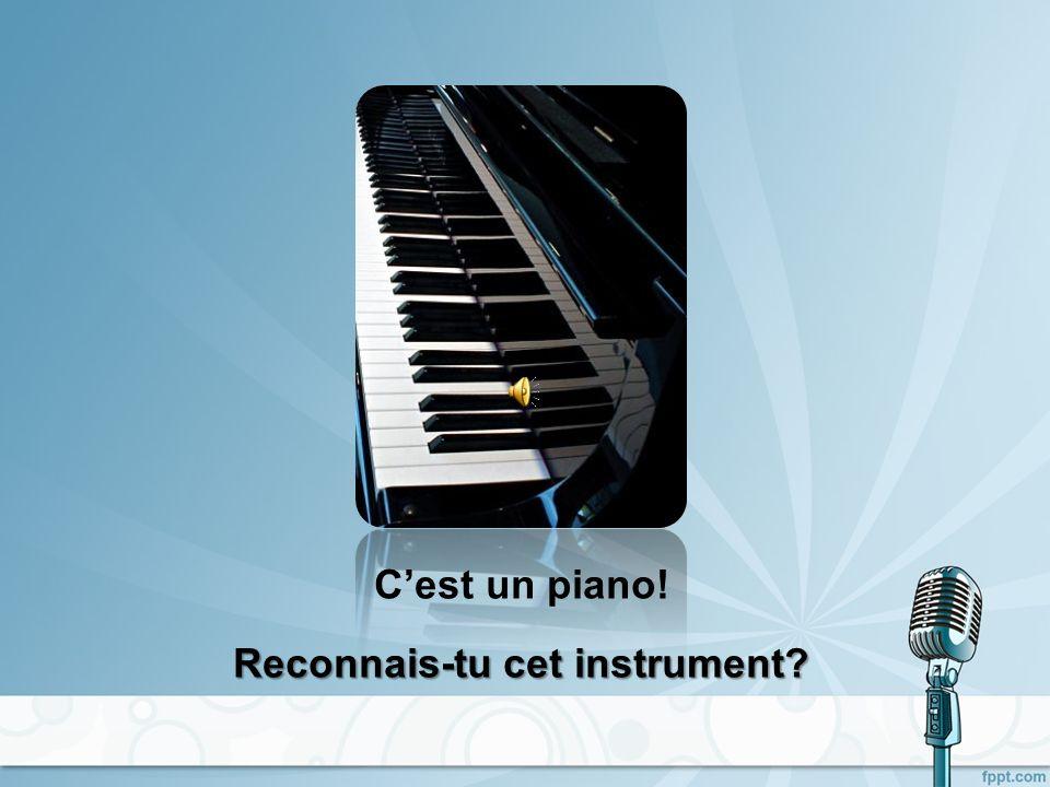 Cest un orgue! Reconnais-tu cet instrument?