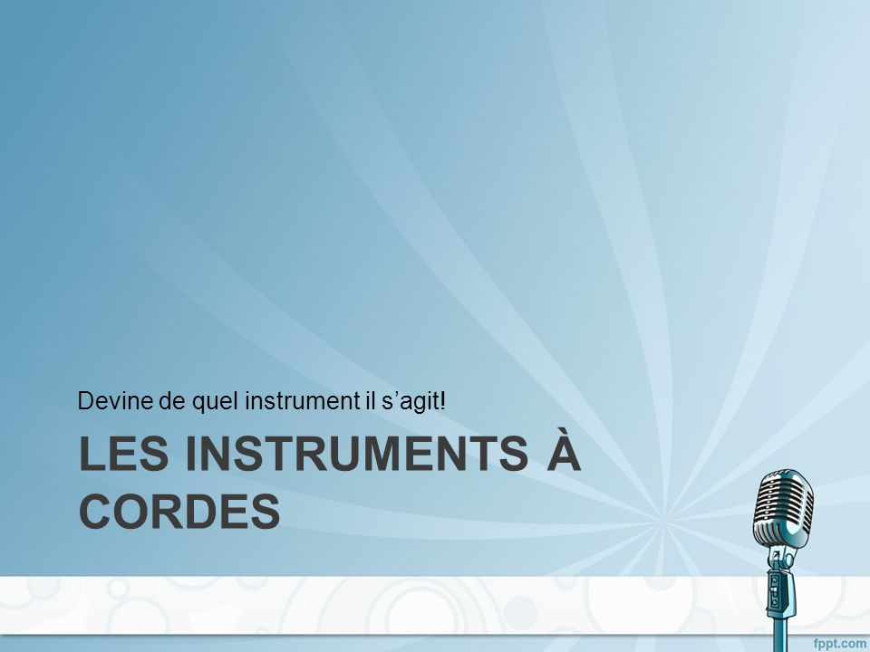 Music of the ??-ties… Simply add « …des années [whatsoever] » after the type of music you listen to: