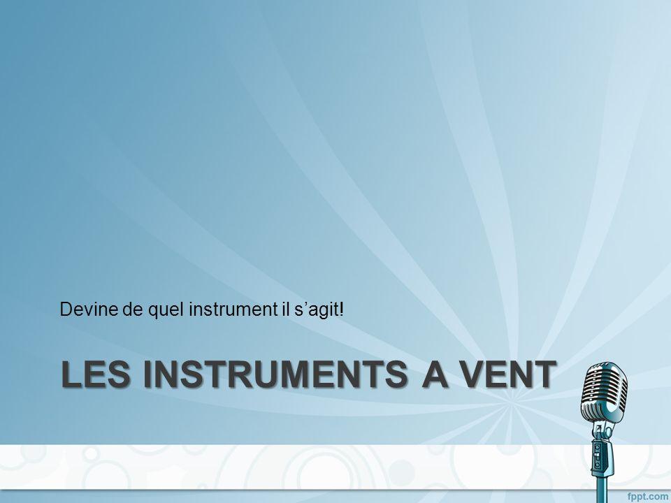 Cest un xylophone! Reconnais-tu cet instrument?