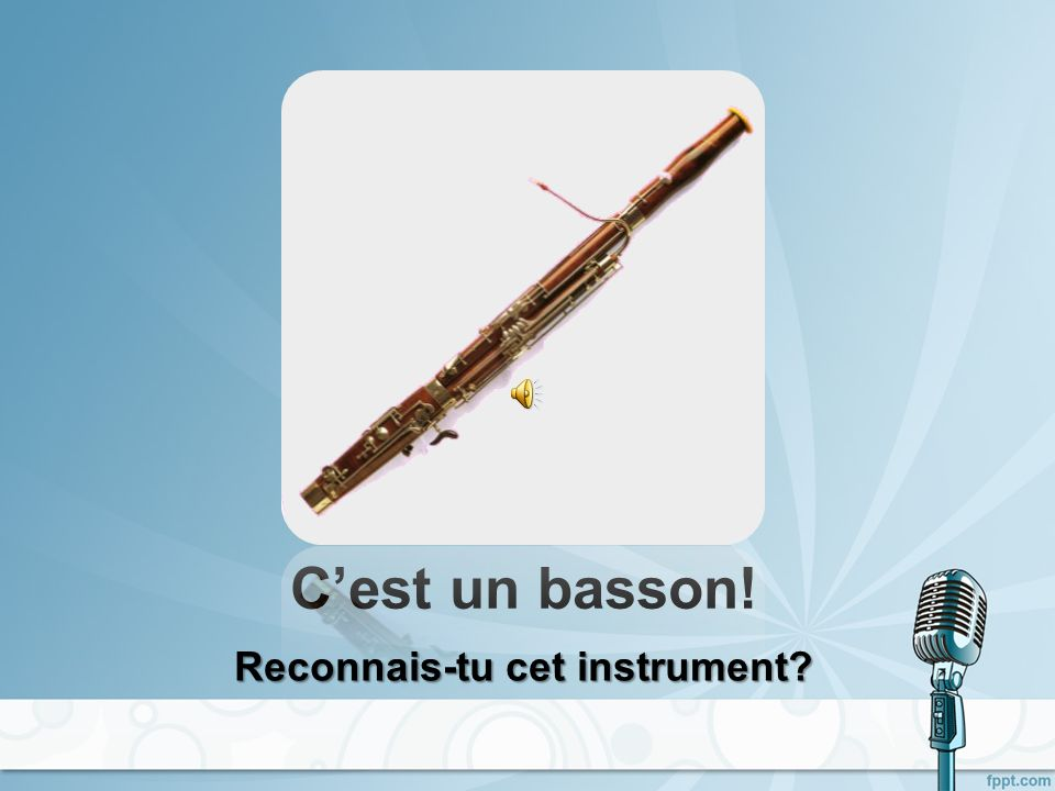 Cest un harmonica! Reconnais-tu cet instrument?