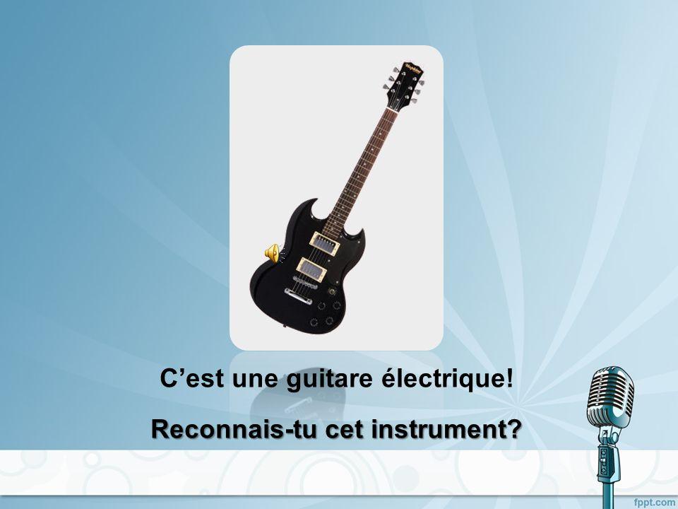 Cest une guitare acoustique!