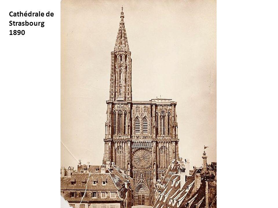 Cathédrale de Strasbourg 1890