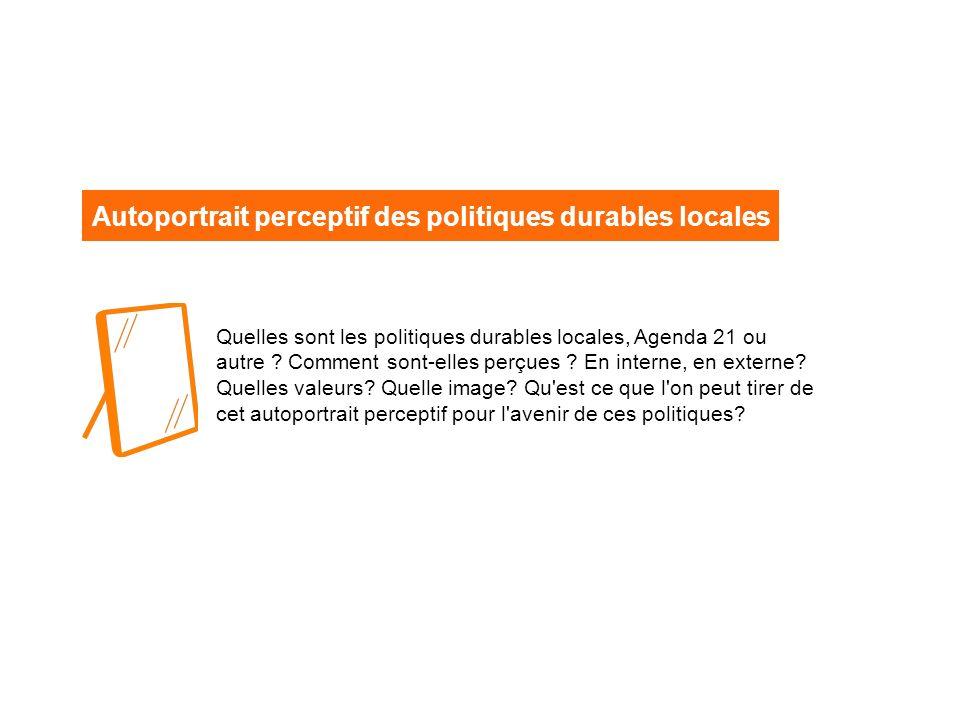 Quelles sont les politiques durables locales, Agenda 21 ou autre .