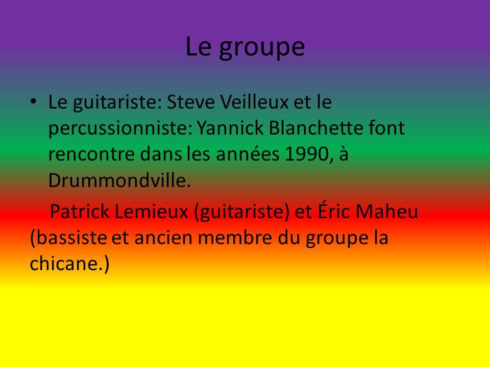 Le groupe Le guitariste: Steve Veilleux et le percussionniste: Yannick Blanchette font rencontre dans les années 1990, à Drummondville.