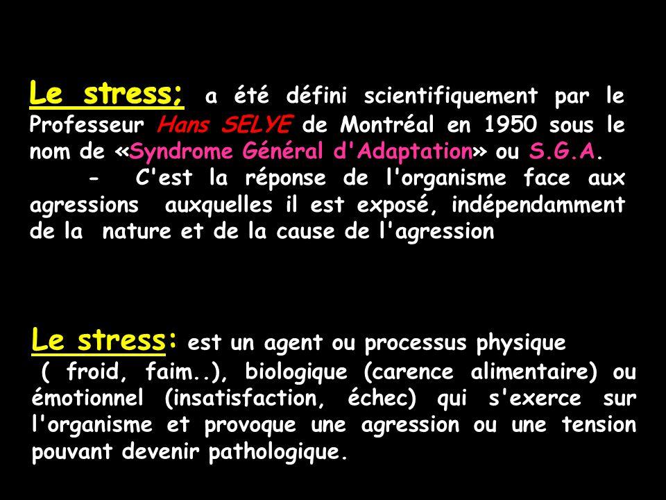 Se faire masser permet une réduction du niveau de stress.