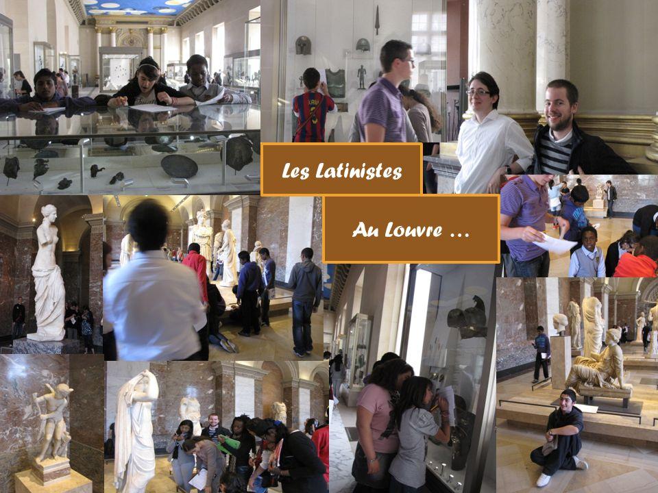 Les Latinistes Au Louvre …