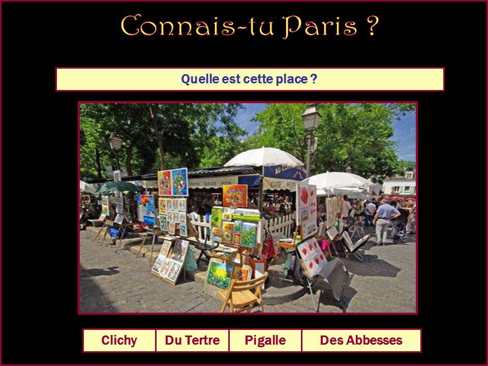 Quelle est cette place De la Bastille Du Trocadéro Des Abbesses De la Concorde