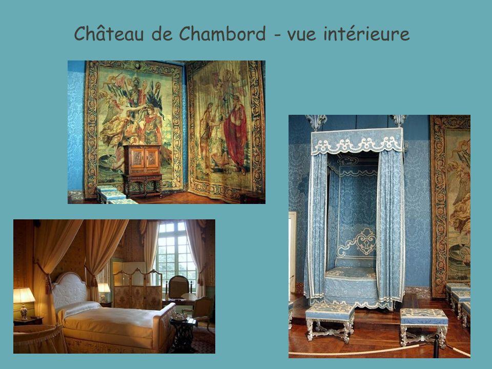 Château de Chambord - vue intérieure