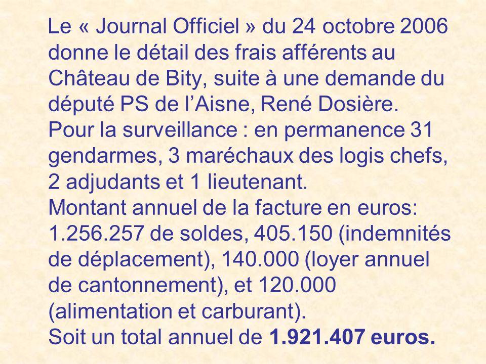 Ensuite, Chirac était trop occupé par ses fonctions présidentielles, et il na pratiquement plus remis les pieds à Bity depuis 1995. Il préfèra passer