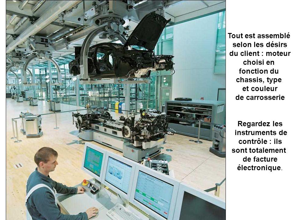 les moteurs sont installés, ainsi que les boîtes de vitesse –sur la droite -