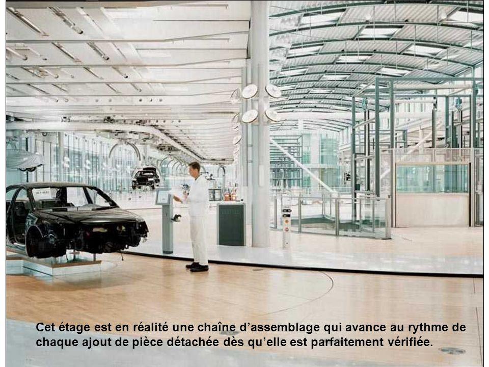 Zone automatisée. Chaque auto est traitée de manière personnalisée, et chaque technicien dispose dun équipement électronique de la plus haute technolo