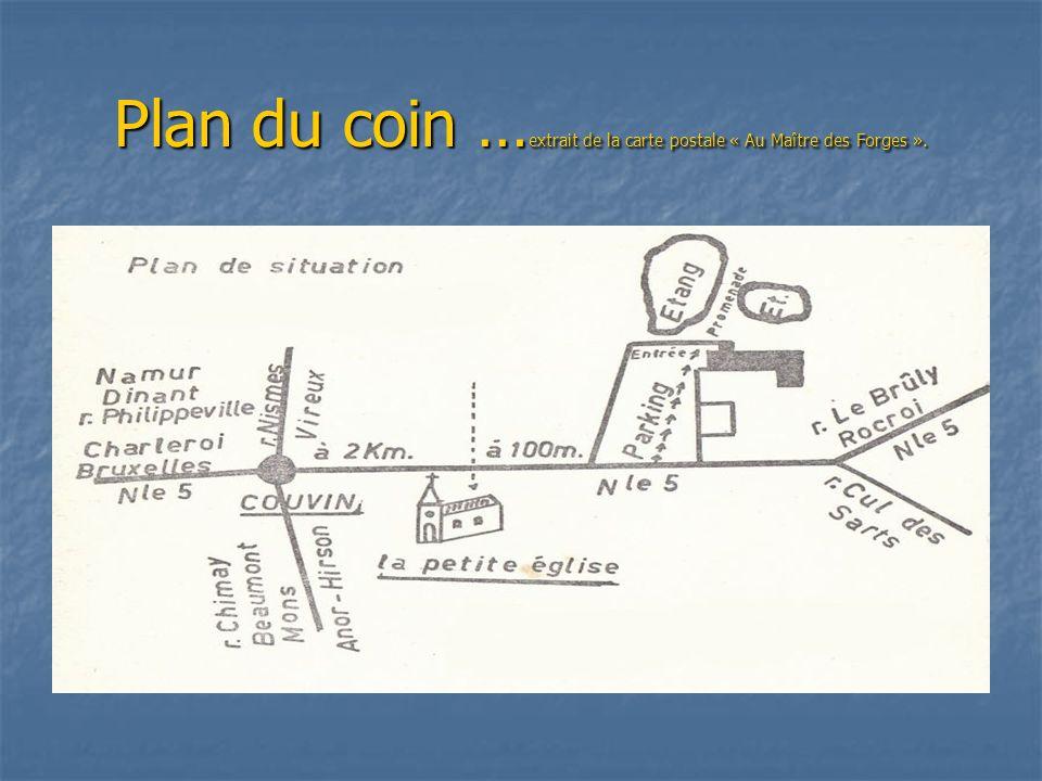 Visite de Couvin Visite du Fonds de lEau parfois écrit Fond de lEau … endroit situé au sud de Couvin-ville en direction de la France au travers de car
