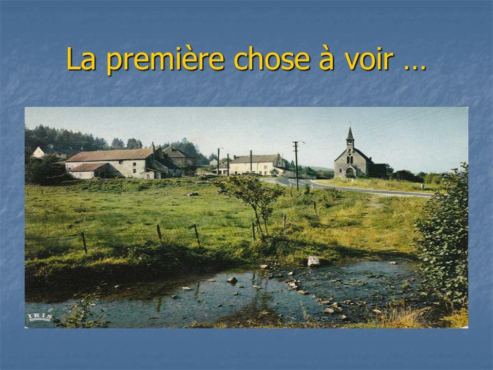 Plan du coin … extrait de la carte postale « Au Maître des Forges ».