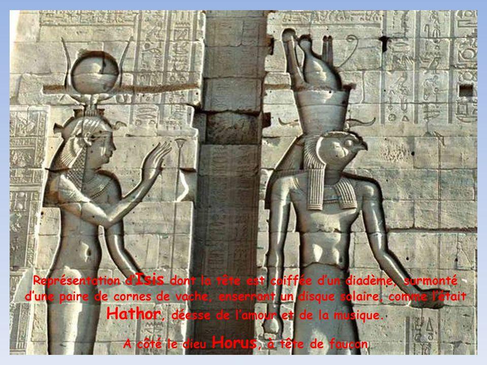LEmpereur romain Justinien, fermera en 550 ce lieu de culte voué à la déesse Hathor, ensuite assimilée à Isis, la déesse protectrice et salvatrice de