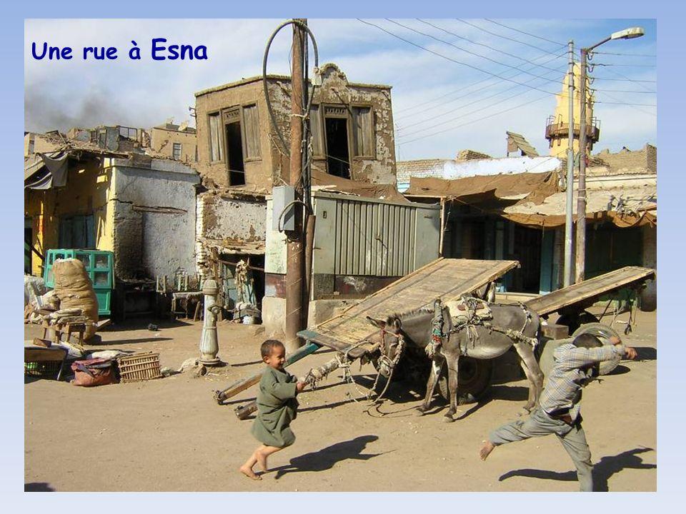 Une rue à Esna