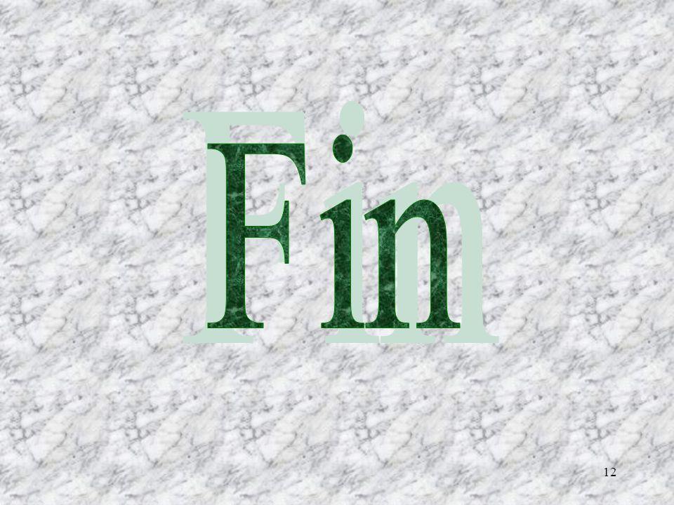 11 Conception et images: François Brisson Réalisation: François Brisson Animation: lordinateur E-mail: brif780928@hotmail.com Retour au début FN