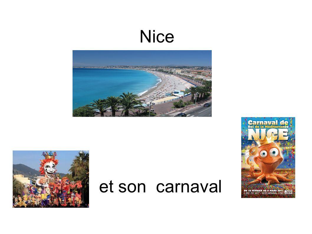 Nice et son carnaval