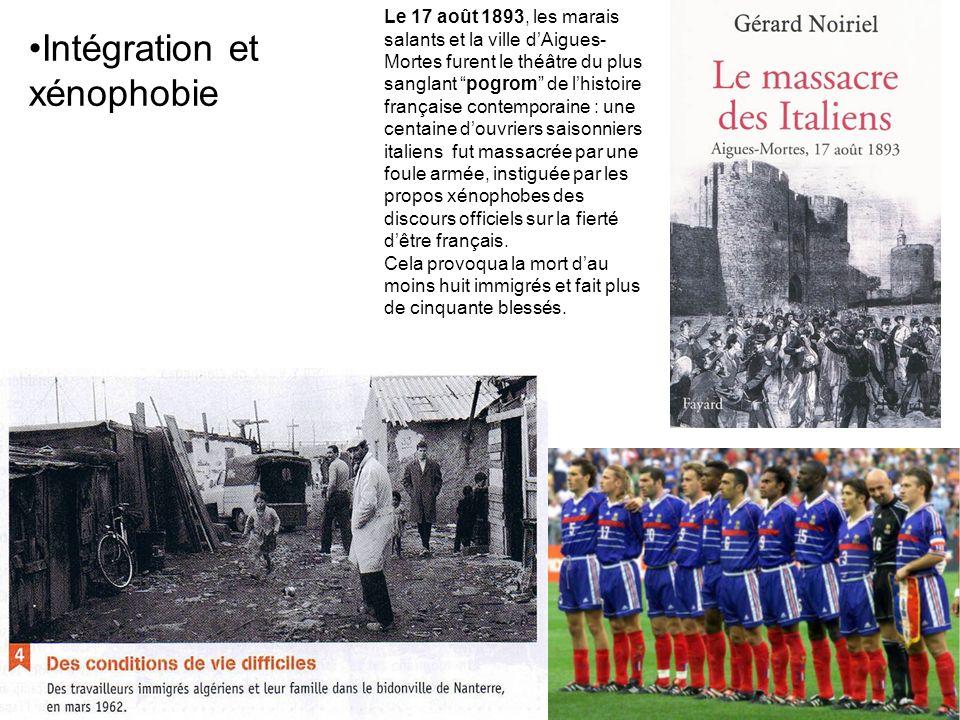 Le 17 août 1893, les marais salants et la ville dAigues- Mortes furent le théâtre du plus sanglant pogrom de lhistoire française contemporaine : une c