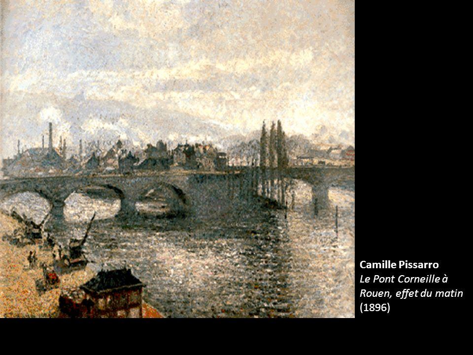 Camille Pissarro Le Pont Corneille à Rouen, effet du matin (1896)