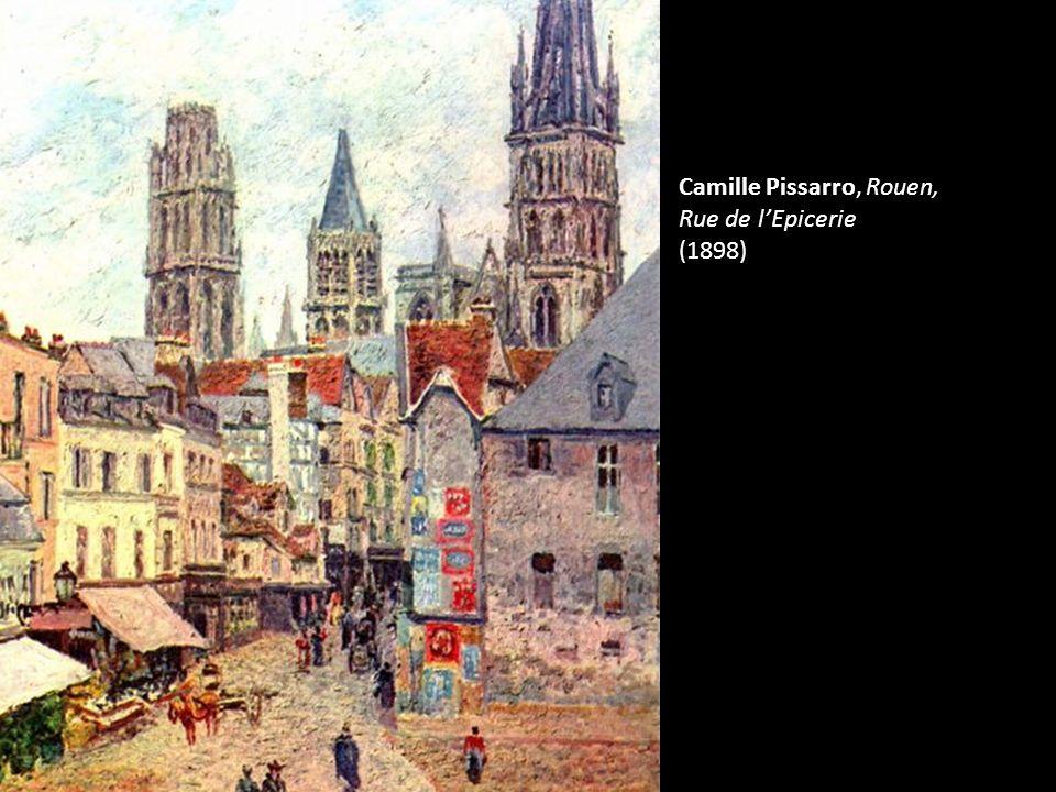 Camille Pissarro, Rouen, Rue de lEpicerie (1898)