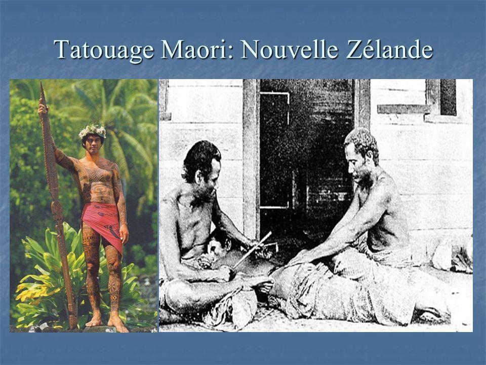 Tatouage Maori: Nouvelle Zélande