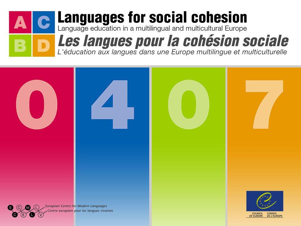 Former les enseignants à lutilisation du Portfolio européen des langues Projet C6 du 2e programme à moyen terme du CELV (PEL_TT)