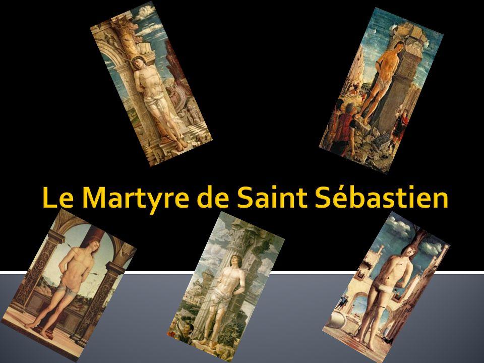 Saint Sébastien est le sujet de trois tableaux du maître de la Renaissance Italienne, Andrea Mantegna.