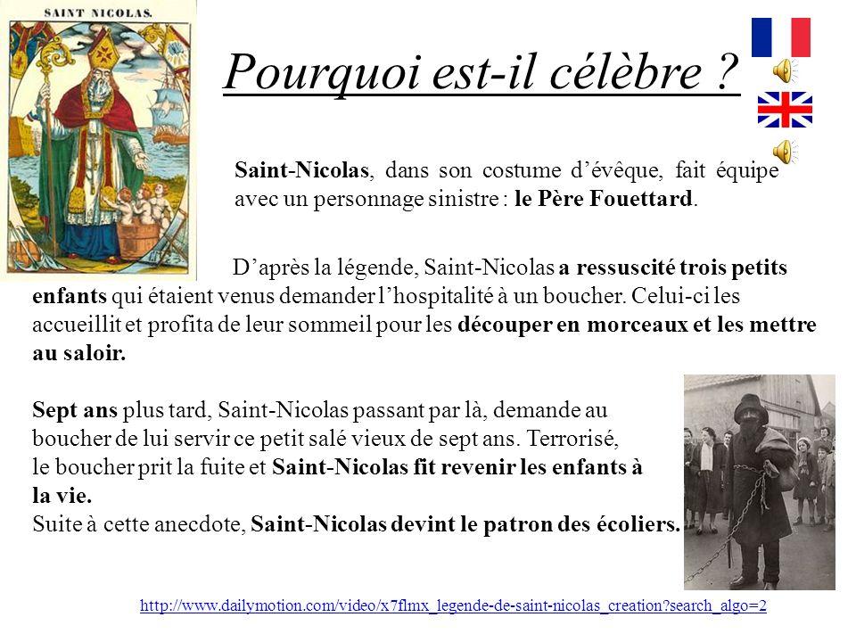 Qui était Saint Nicolas ? Saint Nicolas a vraiment existé. Il est né à la fin du 3e siècle après J.C. dans le sud de la Turquie. Il était évêque de My